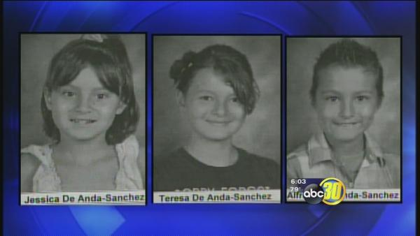 Authorities look for 3 missing Madera children