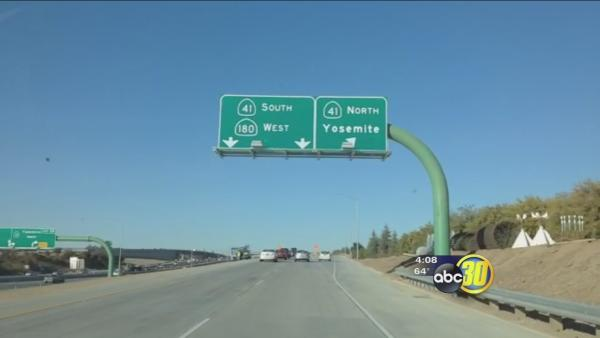 New braided ramps section opens in Fresno