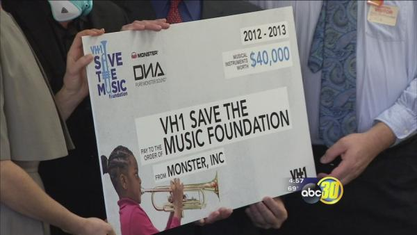 Two businesses help fund music program in Firebaugh schools