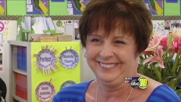 Debi Foth named Kerman Unified's Teacher of the Year