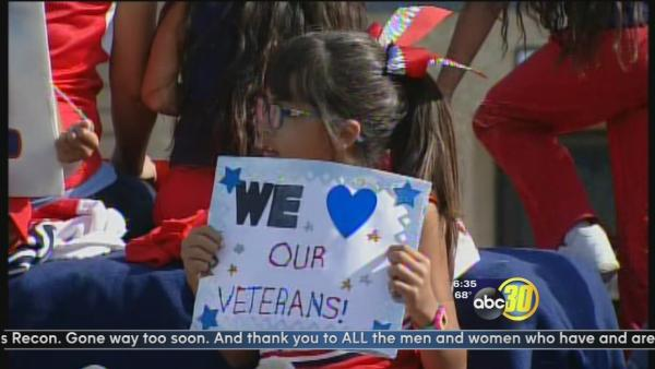 Annual Veteran's Day parade held in Porterville