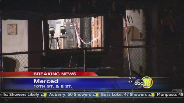Man and two children killed in Merced fire