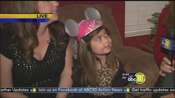 A wish is coming true for a South Valley girl