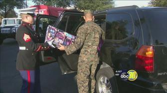 Toys for Tots marathon in River Park to help many children in need