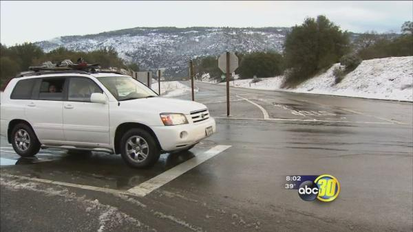 Mountain communities wake up to snow