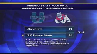 Fresno State wins inaugural Mountain West Championship game, 24-17