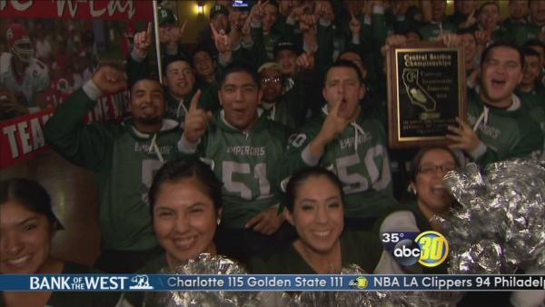 Me-N-Ed's Team of the Week: Dinuba Emperors