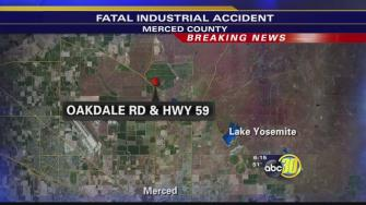 Industrial explosion kills one and seriously injures two people in Merced County