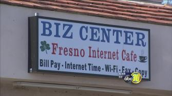 Fresno police say internet cafe doubled as gambling house