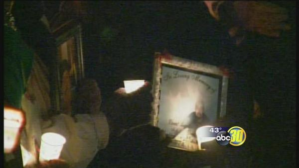 Vigil held for victims of gang violence in Porterville