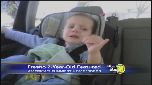 2-year-old Fresno boy to be on America's Funniest Home Videos