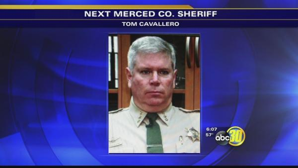 Tom Cavallero appointed Sheriff by Merced County Board of Supervisors