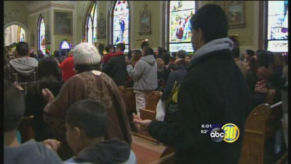 Drought inspires California Catholics to pray for rain
