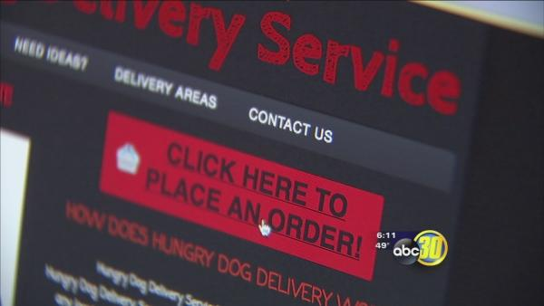 Fresno State students start restaurant delivery service