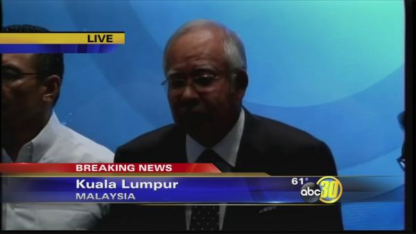 News conference on missing Malaysia jet