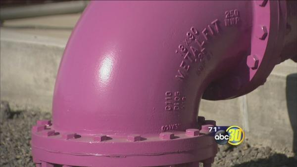Valley cities look to recycled water to ease drought concerns
