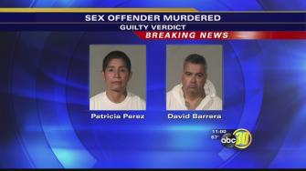Patricia Perez and David Barrera found guilty of first degree murder