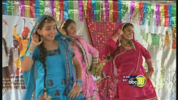 Sikh community celebrates Vaisakhi in Caruthers