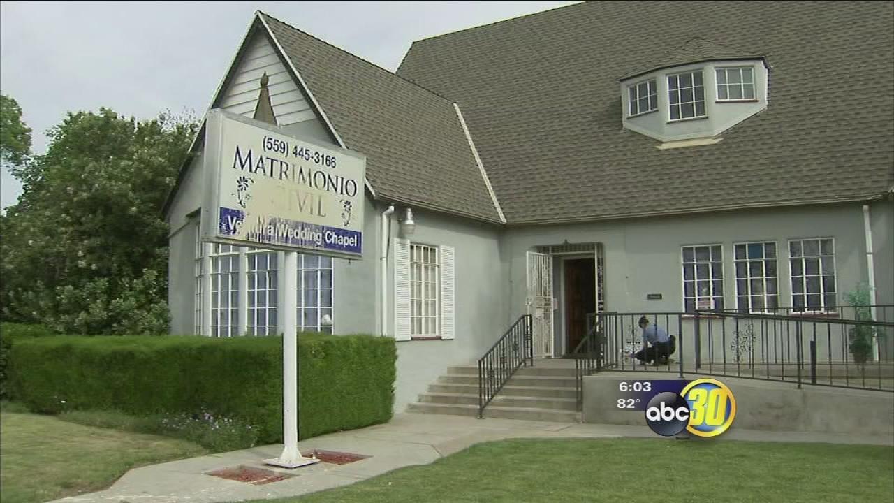 Southeast Fresno Wedding Chapel Vandalized Twice