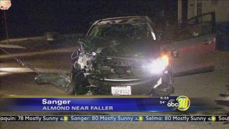 Sanger police chase ends in crash