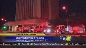 Fire sprinklers cause flooding at FCOE after small fire