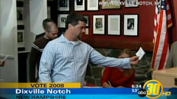 Dixville Notch Cast Their Ballots