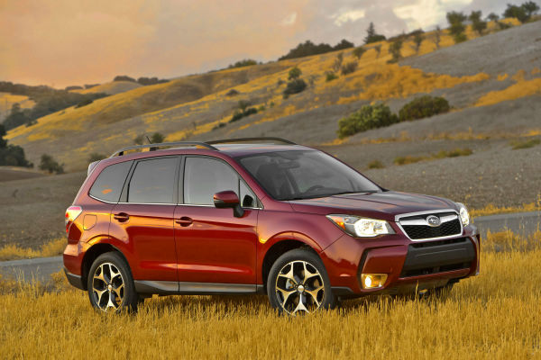 The Subaru Forester is Top Pick for small SUV. It has the best fuel economy in its class, easy to use controls and a very roomy back seat.    <span class=meta>(Photo&#47;Uncredited)</span>