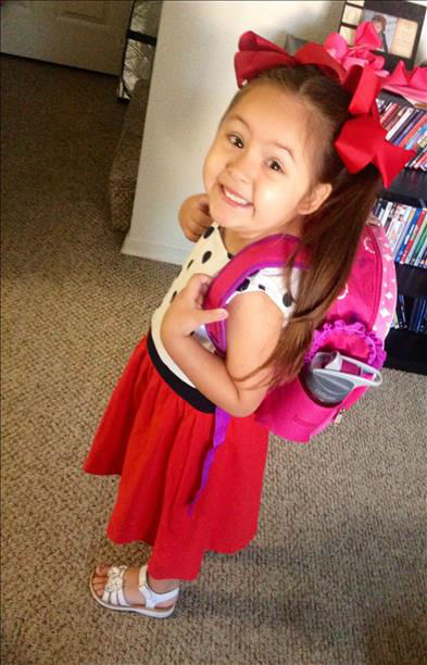 Zuri&#39;s first day of Preschool! <span class=meta>(KFSN Photo&#47; uReport)</span>