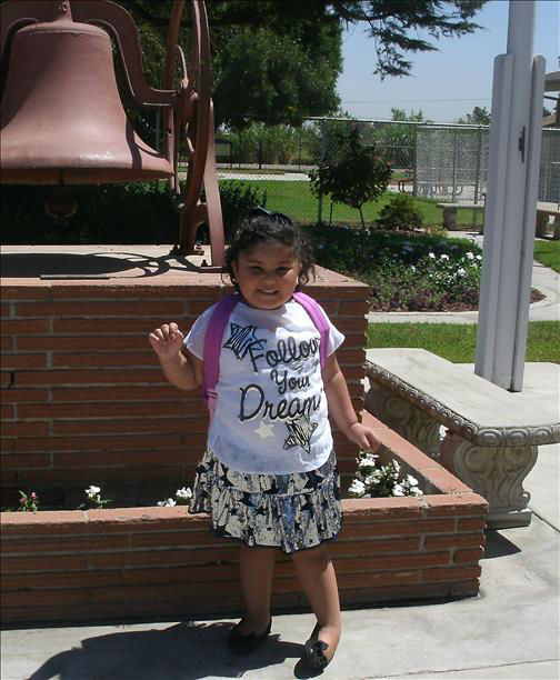 First day of pre-school in Fresno. <span class=meta>(KFSN Photo&#47; uReport)</span>