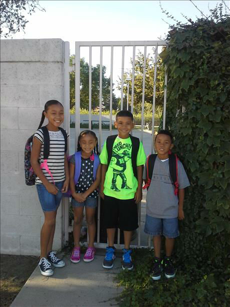 Tiana 5th grade, Johnathan 4th grade, Tayven 2 grade and Jade kindergarten -- Central Unified <span class=meta>(KFSN Photo&#47; uReport)</span>