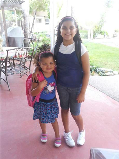 Aunica and Alexcia -- Central Unified School District <span class=meta>(KFSN Photo&#47; uReport)</span>