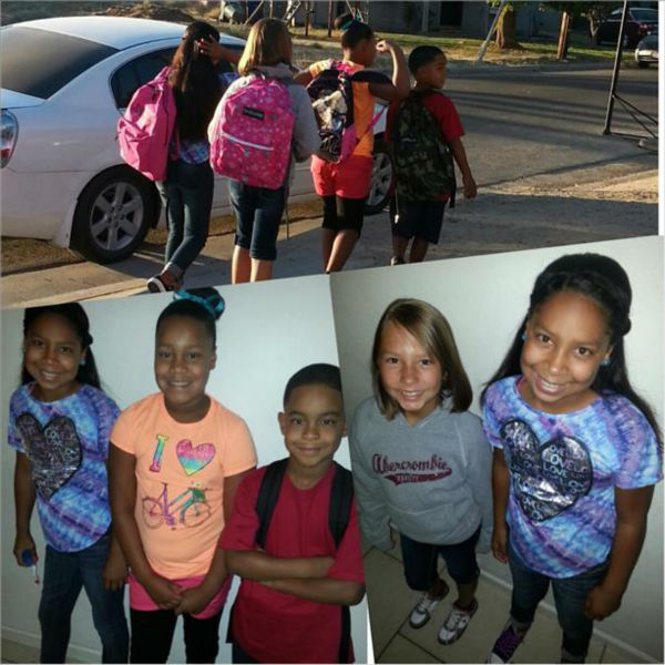 Central Unified kids Kamiyah, Hanna, Lundon, and Ayden <span class=meta>(KFSN Photo&#47; uReport)</span>