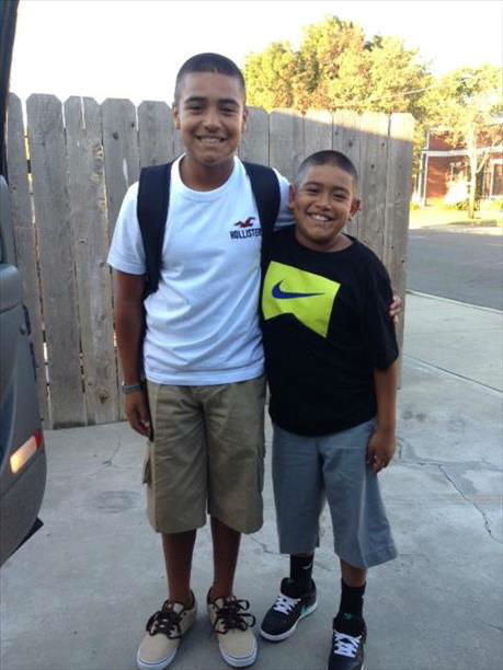 Joseph and Victor from Hanford.  <span class=meta>(KFSN Photo&#47; uReport &#47; Melina)</span>