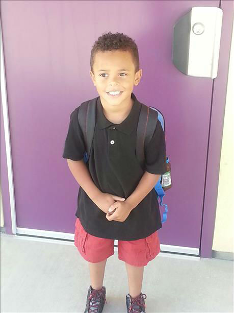 Rashawn, 5yrs old. Kindergarten student in Tulare <span class=meta>(KFSN Photo&#47; uReport)</span>