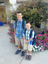 Carson and Brody in Visalia <span class=meta>(KFSN Photo&#47; uReport)</span>