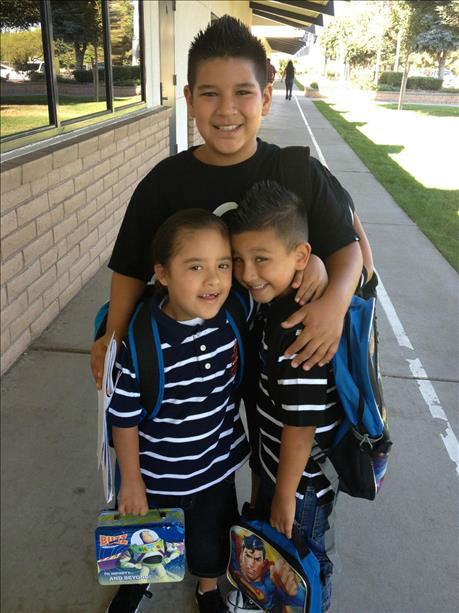 Brother love... Anthony, Jacob and Joshua <span class=meta>(KFSN Photo&#47; uReport)</span>