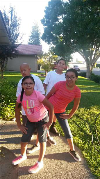 Back to school Moses, Isaiah, Alisha, Kristina, in Madera <span class=meta>(KFSN Photo&#47; uReport)</span>