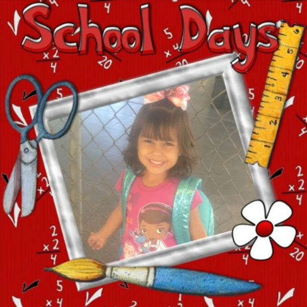 Nevaeh 1st day of Preschool ;&#41; <span class=meta>(KFSN Photo&#47; uReport)</span>