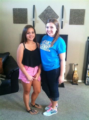 The Sibley Girls from Madera, First day of school! <span class=meta>(KFSN Photo&#47; uReport)</span>