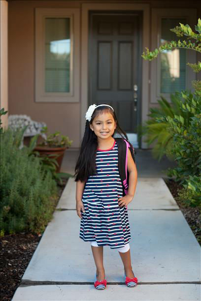 1st day of Kindergarten <span class=meta>(KFSN Photo&#47; uReport)</span>