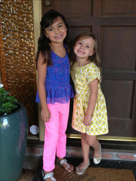 This is Jianna and Jaci from Los Banos. Jianna is starting 2nd grade and Jaci is in her last year of preschool. <span class=meta>(KFSN Photo&#47; uReport)</span>