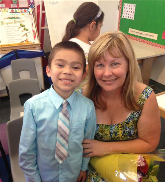Alexander, 5-years-old Kindergarten graduation with Mrs.Hogue Roeding Elementary Fresno,Ca <span class=meta>(KFSN Photo&#47; uReport)</span>
