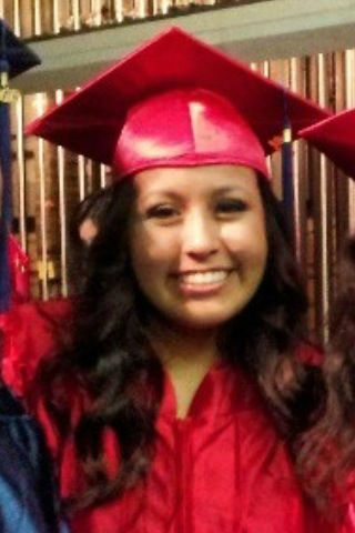 "<div class=""meta ""><span class=""caption-text "">Selena Carbajal graduated from San Joaquin Memorial High School. Proud Mom sends you this photo (KFSN Photo/ uReport)</span></div>"