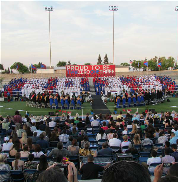 Buchanan High School Class of 2013 <span class=meta>(KFSN Photo&#47; uReport)</span>