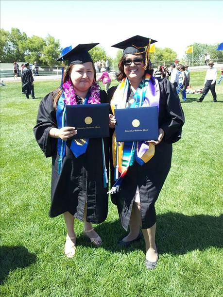 Pictures from the UC Merced School of Social Sciences, Humanities, and Arts graduation on May 19th, 2013. Lissette Padilla, from Avenal, CA, graduated with her Bachelor&#39;s of Art in Sociology and is planning to attend law school next fall. <span class=meta>(KFSN Photo&#47; uReport)</span>