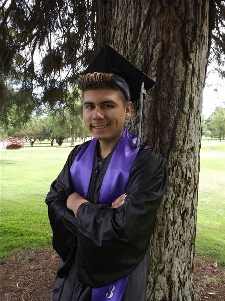 Congratulations Brandon! We love you Brandon &amp; couldn&#39;t be more proud of you! Mission Oak Hawks Class of 2013!! <span class=meta>(KFSN Photo&#47; uReport)</span>