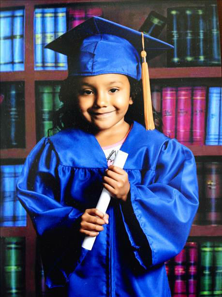 Keira - Age 5 graduating Kindergarden tomorrow from Sanger,Ca Wilson Elemantry <span class=meta>(KFSN Photo&#47; uReport)</span>
