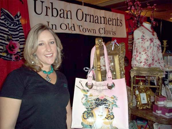 Urban Ornaments brought along dresses and accessories for the ladies.