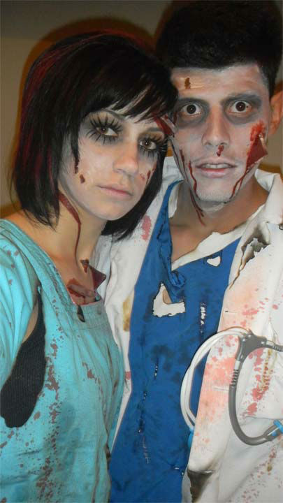 Bloody doctor and nurse