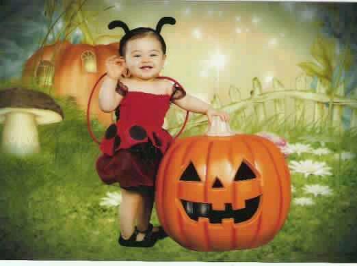 Jazmyne 1st halloween